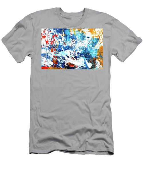 Men's T-Shirt (Athletic Fit) featuring the painting Ab19-3 by Arttantra