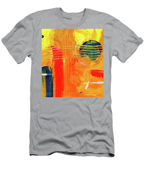Men's T-Shirt (Athletic Fit) featuring the painting Ab19-9 by Arttantra