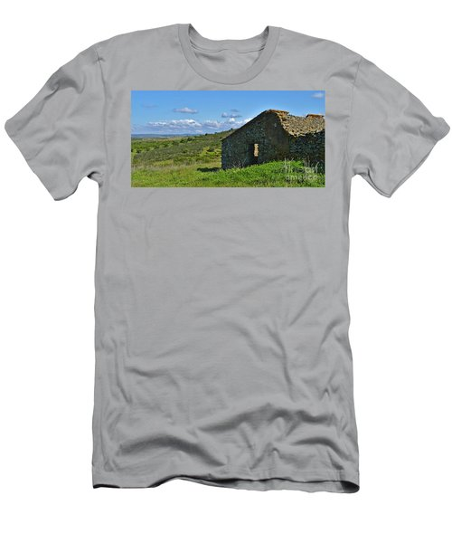 Abandoned Cottage In Alentejo Men's T-Shirt (Athletic Fit)
