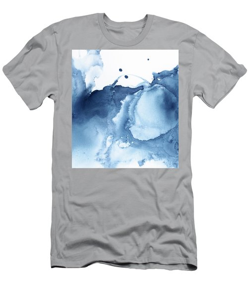 Abstract Shades Of Blue  Men's T-Shirt (Athletic Fit)