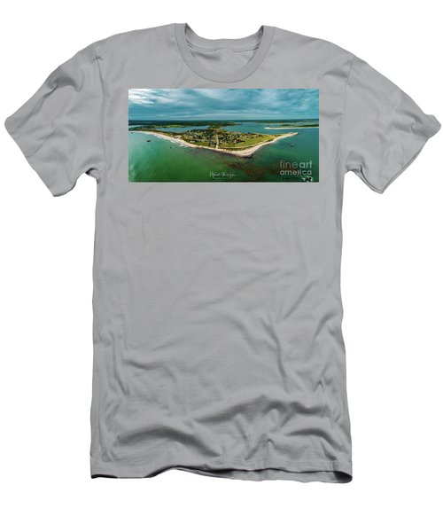 Men's T-Shirt (Athletic Fit) featuring the photograph Acoaxet Life, Westport by Michael Hughes