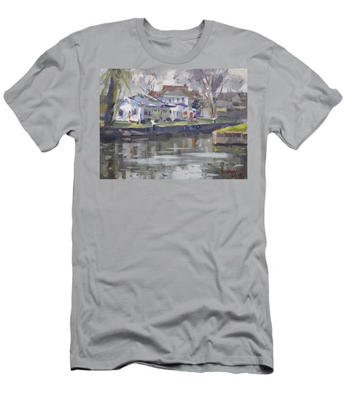 Afternoon At La Salle Park Men's T-Shirt (Athletic Fit)