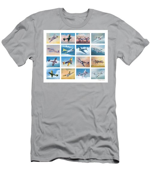 Airplane Poster Men's T-Shirt (Athletic Fit)