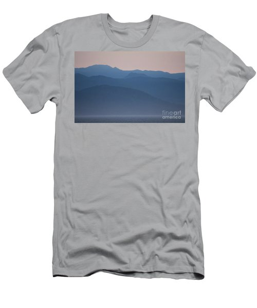 Alaska Inside Passage Mountains Men's T-Shirt (Athletic Fit)