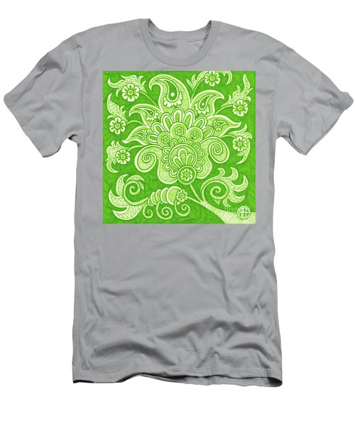 Alien Bloom 4 Men's T-Shirt (Athletic Fit)
