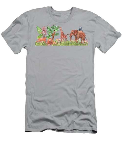 All Is Well In The Jungle Men's T-Shirt (Athletic Fit)