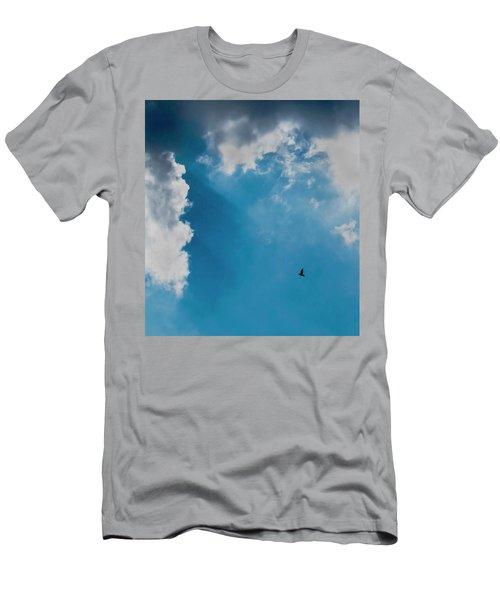 Colours. Blue. Alone. Men's T-Shirt (Athletic Fit)