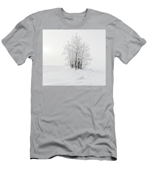 Alone On The Prairie Men's T-Shirt (Athletic Fit)