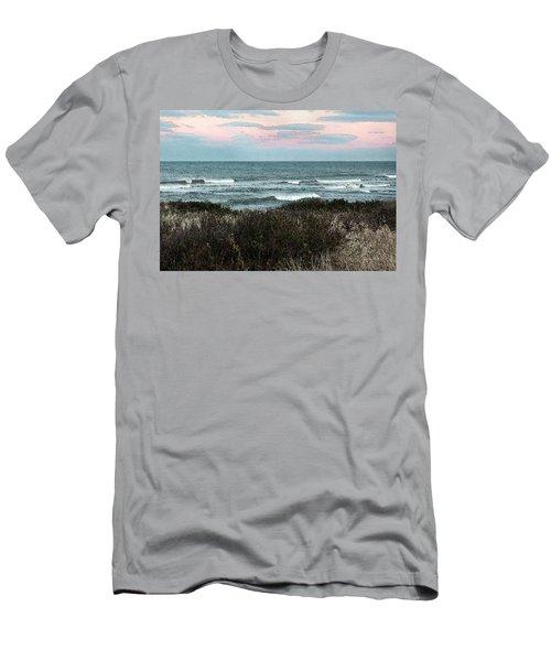 Along Cape Cod II - Watercolor Men's T-Shirt (Athletic Fit)