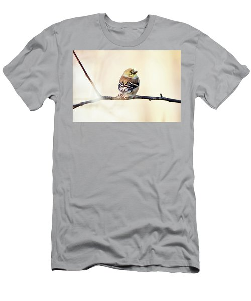 Men's T-Shirt (Athletic Fit) featuring the photograph American Goldfinch by Sue Collura