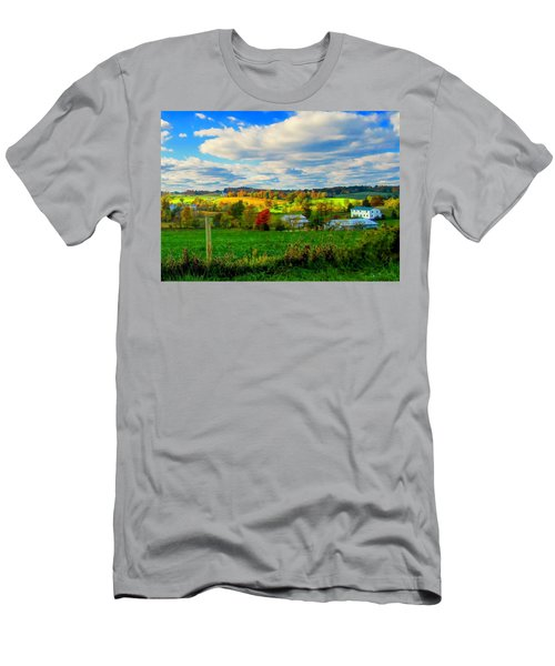 Amish Farm Beauty Men's T-Shirt (Athletic Fit)