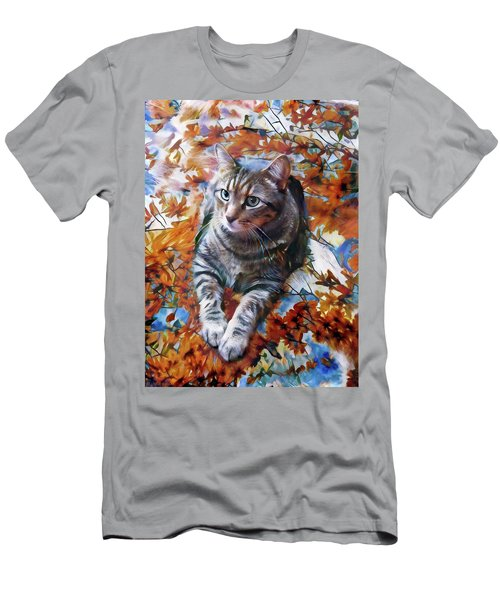 Amos In Flowers Men's T-Shirt (Athletic Fit)
