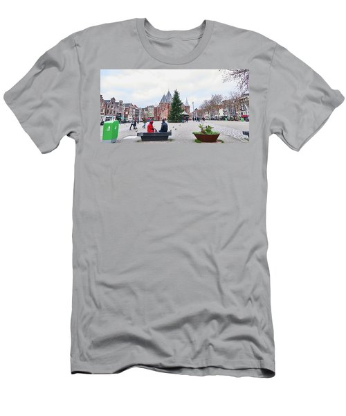 Amsterdam Christmas Men's T-Shirt (Athletic Fit)