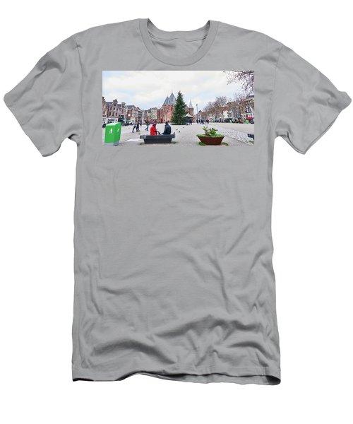 Amsterdam Christmas Men's T-Shirt (Athletic Fit)