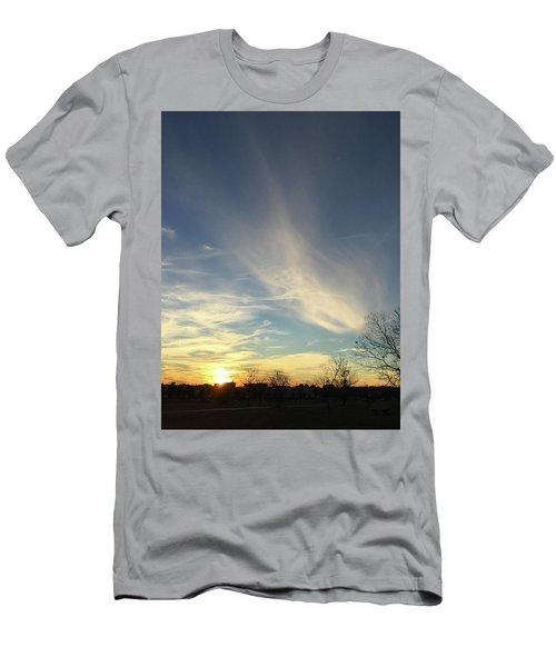 Angel Cloud Sunset Men's T-Shirt (Athletic Fit)