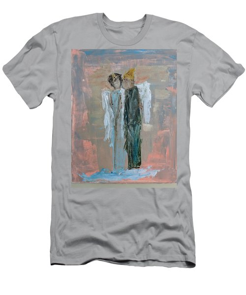 Angels In Love Men's T-Shirt (Athletic Fit)