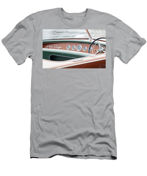 Antique Wooden Boat Dashboard 1306 Men's T-Shirt (Athletic Fit)