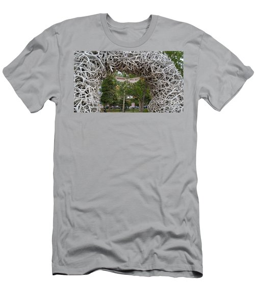Antler Arch  Men's T-Shirt (Athletic Fit)
