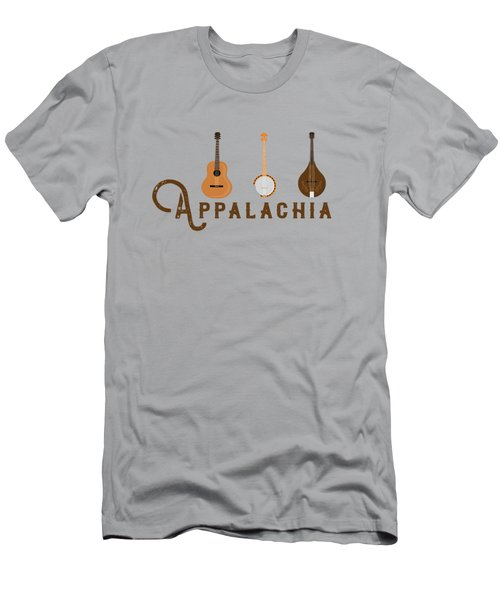 Appalachia Mountain Music White Mountains Men's T-Shirt (Athletic Fit)