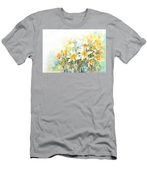 April Yellows Men's T-Shirt (Athletic Fit)