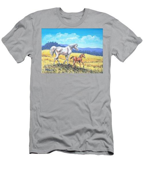 Arab Summer Sketch Men's T-Shirt (Athletic Fit)
