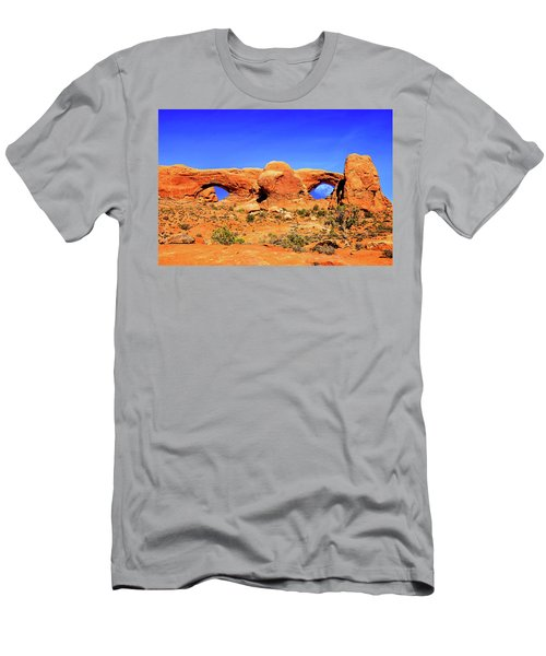 Arches Moon Eye Men's T-Shirt (Athletic Fit)