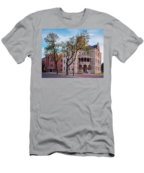 Architectural Photograph Of The Comal County Courthouse In Downtown New Braunfels Texas Hill Country Men's T-Shirt (Athletic Fit)