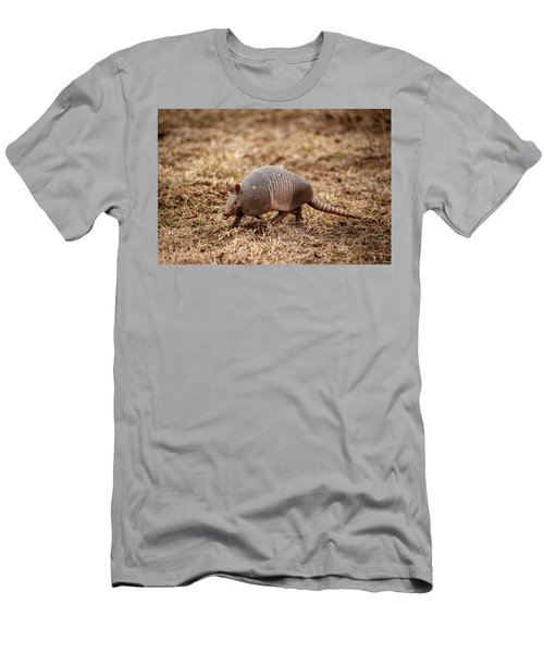 Men's T-Shirt (Athletic Fit) featuring the photograph Armadillo by Jeff Phillippi