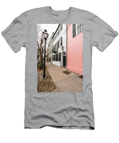 Around The Street Lamp Men's T-Shirt (Athletic Fit)