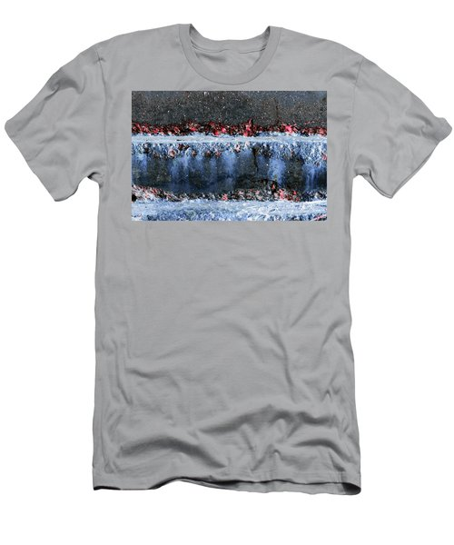 Men's T-Shirt (Athletic Fit) featuring the photograph Art Print Abstract 16 by Harry Gruenert