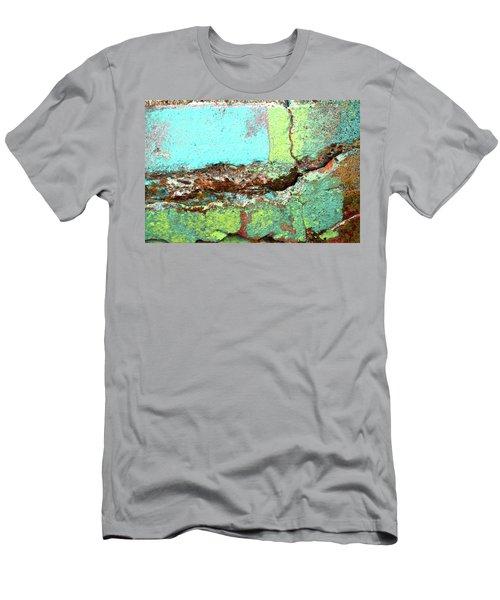 Men's T-Shirt (Athletic Fit) featuring the photograph Art Print Abstract 17 by Harry Gruenert