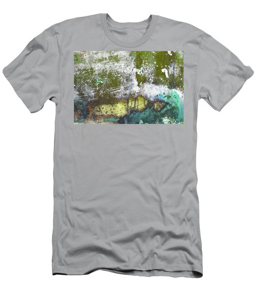 Men's T-Shirt (Athletic Fit) featuring the photograph Art Print Abstract 30 by Harry Gruenert