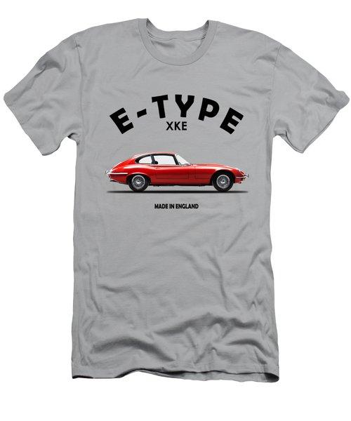 Jaguar E Type Men's T-Shirt (Athletic Fit)