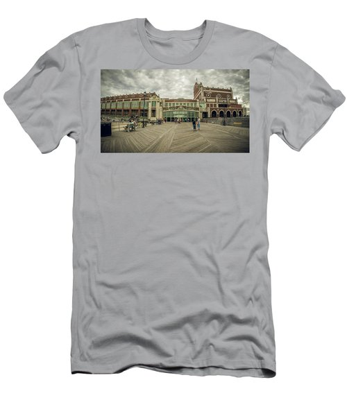Asbury Park Convention Hall Men's T-Shirt (Athletic Fit)