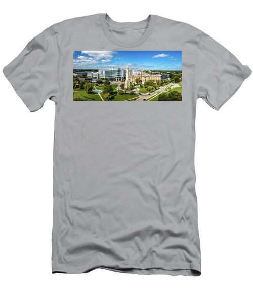 Men's T-Shirt (Athletic Fit) featuring the photograph Ascension Columbia St. Mary's Hospital by Randy Scherkenbach