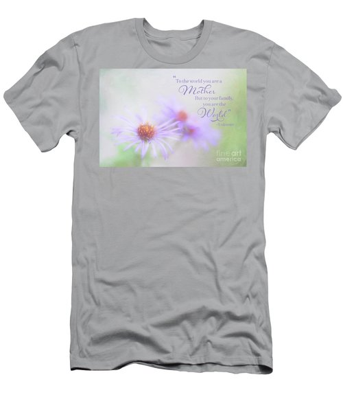 Asters For Mother's Day Men's T-Shirt (Athletic Fit)