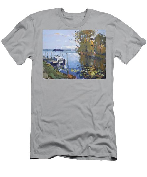 At The Dock Men's T-Shirt (Athletic Fit)