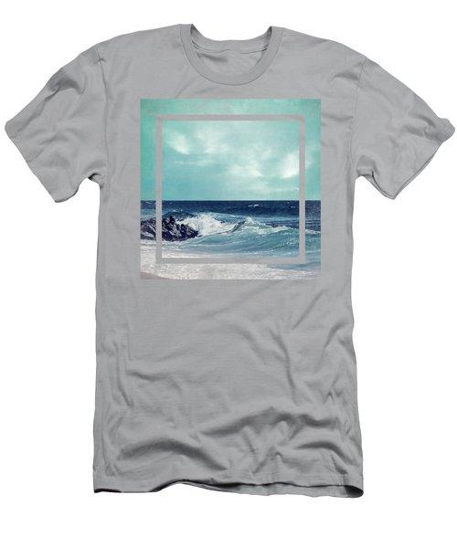 Atlantic Surf Men's T-Shirt (Athletic Fit)