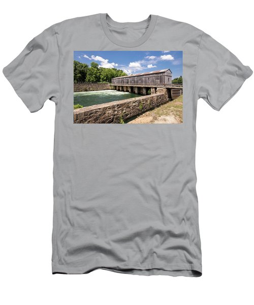 Augusta Canal Headgates - Augusta Ga Men's T-Shirt (Athletic Fit)