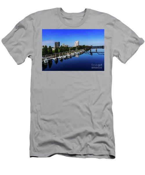 Augusta Ga Savannah River 2 Men's T-Shirt (Athletic Fit)