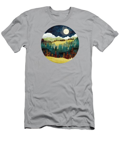 Autumn Moon Men's T-Shirt (Athletic Fit)