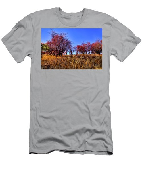 Men's T-Shirt (Athletic Fit) featuring the photograph Autumn Sun by David Patterson