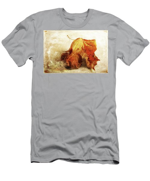 Men's T-Shirt (Athletic Fit) featuring the photograph Autumn Texture by Randi Grace Nilsberg