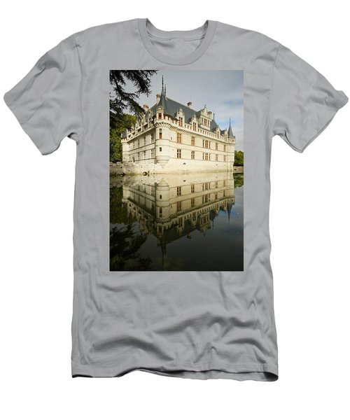 Men's T-Shirt (Athletic Fit) featuring the photograph Azay-le-rideau by Stephen Taylor
