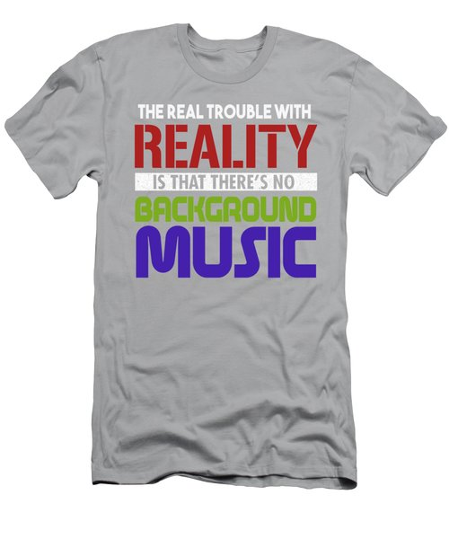 Background Music Men's T-Shirt (Athletic Fit)