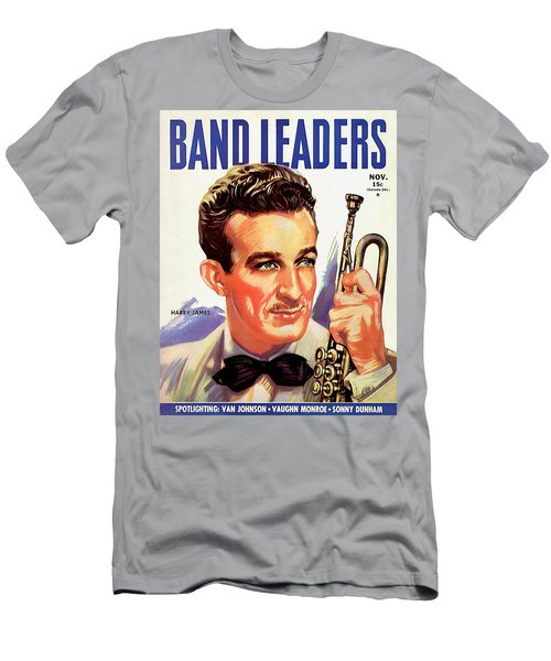 Band Leaders Harry James, 1931 Poster Men's T-Shirt (Athletic Fit)