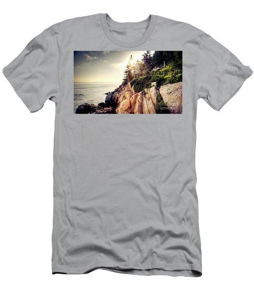 Bass Harbor Men's T-Shirt (Athletic Fit)