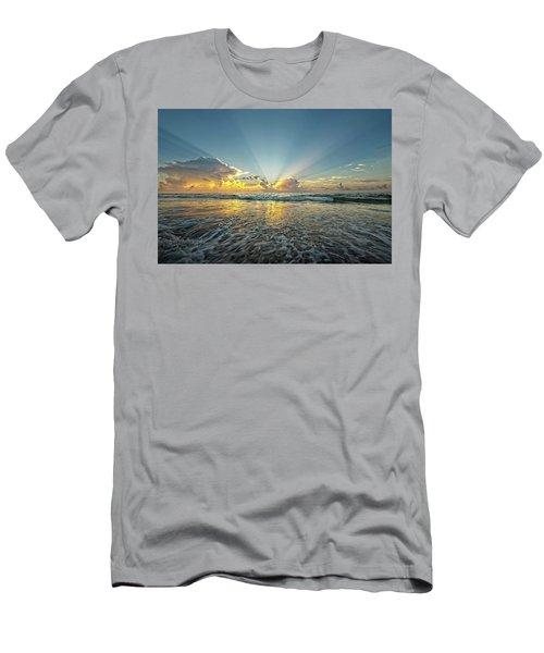Beams Of Morning Light 2 Men's T-Shirt (Athletic Fit)