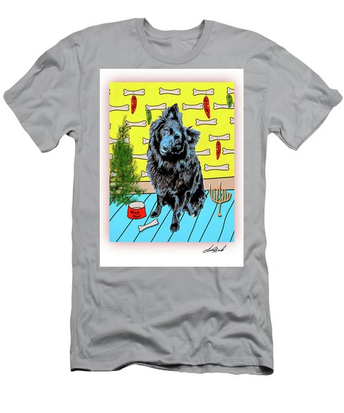 Men's T-Shirt (Athletic Fit) featuring the photograph Bear Paw Holiday by Lou Novick