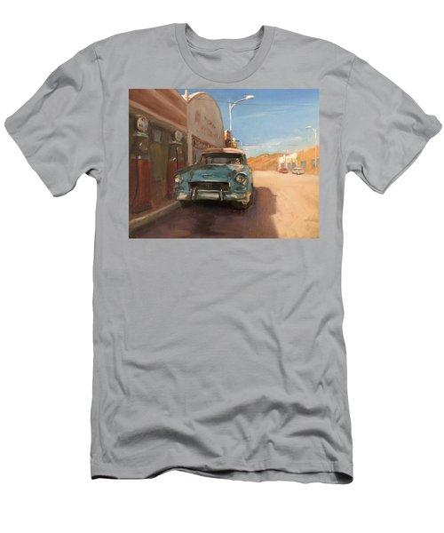 Beautiful Downtown Lowell, Arizona Men's T-Shirt (Athletic Fit)
